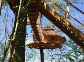 Les Cabanes au Bois d'Orient, Briel-sur-Barse