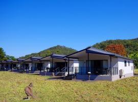 Del Rio Riverside Resort, Wisemans Ferry (St Albans yakınında)
