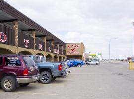 Lazy J Motel, Claresholm (Fort Macleod yakınında)