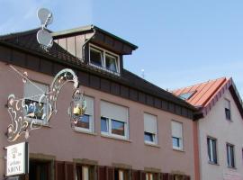 Ferienwohnung Beck, Kürnbach (Sulzfeld yakınında)