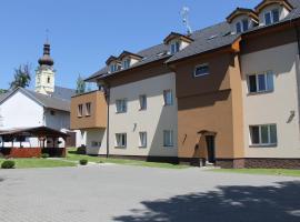 Penzion u Šípků, Ostrava (Třebovice yakınında)