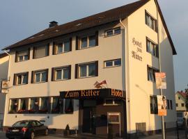 Hotel Zum Ritter, Seligenstadt (Dettingen am Main yakınında)