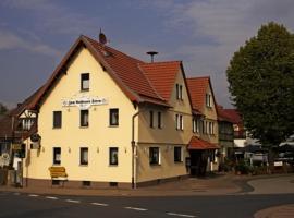 Hotel-Restaurant Zum Goldenen Stern, Großalmerode (Trubenhausen yakınında)