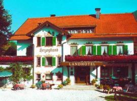 Landhotel Herzogstand, Kochel (Jachenau yakınında)