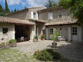 Chambres d'Hôtes Le Jabelin, La Bégude-de-Mazenc (рядом с городом La Bâtie-Rolland)