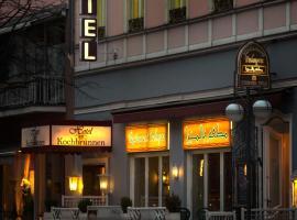 Hotel am Kochbrunnen, Vīsbādene