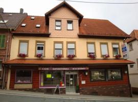 Ferienwohnung Cafe Zum Goldenen Stern, Beerfelden