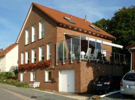 Ferienwohnung Haus Ahrens, Modautal (Laudenau yakınında)
