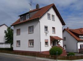 Ferienwohnung Rebert, Reichelsheim (Laudenau yakınında)