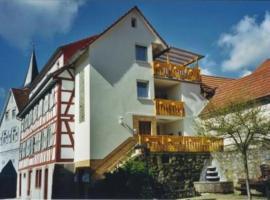 Ferienwohnung Schlossblick, Reichelsheim (Laudenau yakınında)