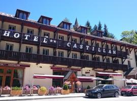 Hotel Castillan, Ла-Грав (рядом с городом Le Pied du Col)