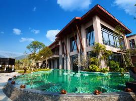 Dusit Devarana Hot Springs & Spa, Conghua (Guangzhouyiyaogongsi yakınında)