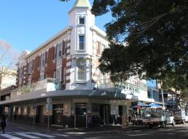 The Crown & Anchor Hotel, Newcastle (Stockton yakınında)