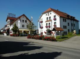 Hotel Restaurant Adler, Westhausen (Lauchheim yakınında)