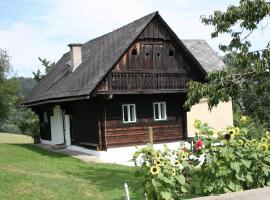 Ferienhaus Koglegg, Unterfresen (Soboth yakınında)