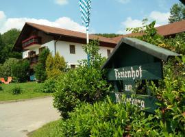 Ferienhof am Mitterberg, Bad Birnbach (Brandstatt yakınında)