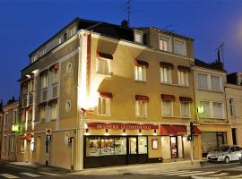 Logis Hotel Le Continental, Шатору