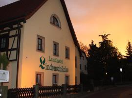 Landhotel Lindenschänke, Drážďany