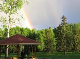 Black Cat Guest Ranch, Brule Mines (Rock Lake Lodge Provincial Park yakınında)