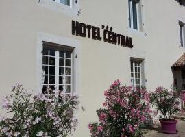 Hôtel Central, Chaunay (рядом с городом Caunay)