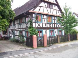 Pension Zur Sonne Wittenweier, Schwanau (Wittenweier yakınında)