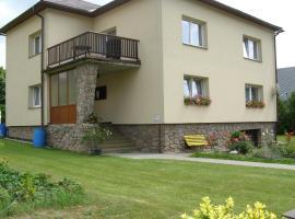 Apartment Vysocina, Svratka (Kameničky yakınında)