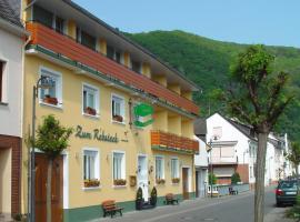 Gasthaus Zum Rebstock, Hirzenach (Karbach yakınında)