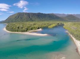 Noah Creek-Rainforest Eco Huts, Cape Tribulation