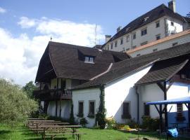 Penzion U Tkadlen, Jindrichuv Hradec (Buk yakınında)