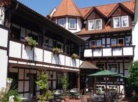 Landhotel & Restaurant Kains Hof, Uhlstädt (Kirchhasel yakınında)