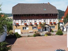 Gasthaus Zum Reinhardswald, Gewissenruh (Oedelsheim yakınında)