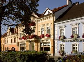 Hotel Restaurant Modrá Hvězda, Dobřany (Přeštice yakınında)