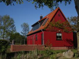 Ferienhaus Darßblick mit Terrasse und Sauna, Neuendorf Heide