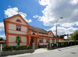 Hotel Lidový dům, Řevnice (Zadní Třebaň yakınında)