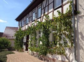 Ferienhaus Borntal, Breitungen (Fambach yakınında)