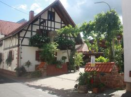 Ferienwohnung Familie Westermann, Kapellen-Drusweiler (Oberhausen yakınında)