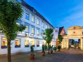 Hotel Württemberger Hof, Öhringen (Neuenstein yakınında)