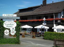 Landhaus Wuttke, Wildbergerhütte (Sterzenbach yakınında)