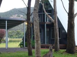 The A-Frame Chalet, Halls Gap