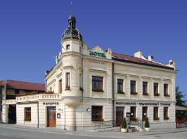 Hotel Jelínkova vila, Velké Meziříčí (Milíkov yakınında)