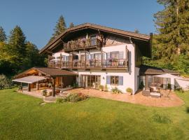 Ferienhaus Heimhof, Garmisch-Partenkirchen (Hammersbach yakınında)