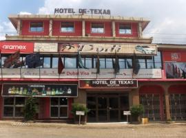 Hotel De Texas, Kumasi (рядом с городом Adiebaba)