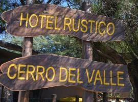Hotel Rustico Cerro Del Valle, San Agustín de Valle Fértil