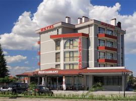 Tsarigrad Hotel, Pŭrvomay (Bratya Daskalovi yakınında)
