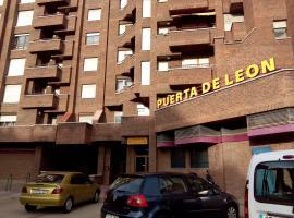 Apartamentos Turisticos Puerta de León, León (Arcahueja yakınında)