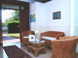 Villa Palmira, Quadrelle