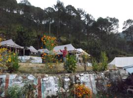 Camp Nirvana Yamunotri, Barkot (рядом с городом Parolā)