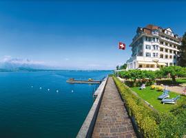 Hotel Restaurant Bellevue au Lac, Thun