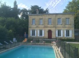 Gite Du Chateau La Blancherie, La Brede (рядом с городом Saint-Selve)
