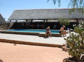 Oppi-Koppi Rest Camp, Kamanjab (Near Sesfontein)